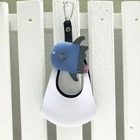 【ふるさと納税】マンボウマスクホルダー&白マスクセット 【雑貨・日用品・ファッション】