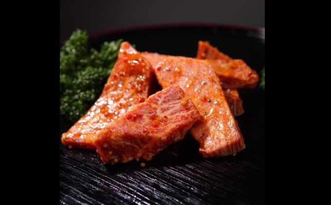 【ふるさと納税】最高級黒毛和牛と湘南ブランド黒毛和牛の特上味付きカルビ肉 【牛肉/焼肉】