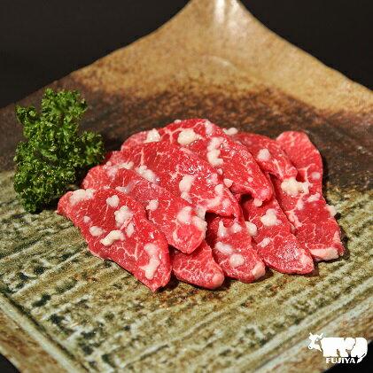 【ふるさと納税】最高級ブランド黒毛和牛のハラミ塩麹漬け焼肉用(自家製加工) 【牛肉/ハラミ焼肉】
