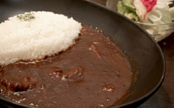 【ふるさと納税】高級黒毛和牛で作ったお肉屋さんの贅沢ハッシュドビーフ 【牛肉/加工食品】