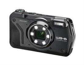 【ふるさと納税】RICOH デジタルカメラ WG-6 ブラック【 神奈川県 海老名市 】