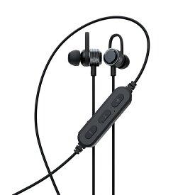 【ふるさと納税】 Owltech(オウルテック) やわらかフックで耳に固定 Bluetooth5 ワイヤレス ステレオイヤホン マグネット付 (ブラック) OWL-BTEP06S-BK 【 家電 イヤフォン スマートフォンアクセサリー イヤフォン 神奈川県 海老名市 】
