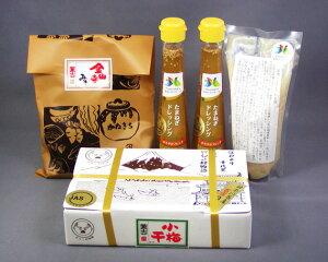 【ふるさと納税】No.023 二宮ふる里セット / 玉ねぎドレッシング 甘酒 味噌 みそ 小梅干 神奈川県 特産品