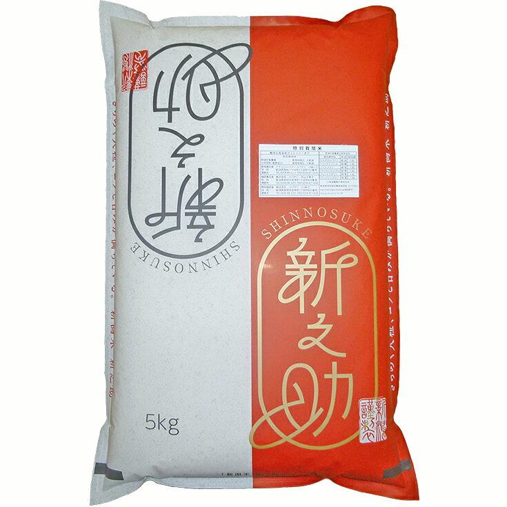 【ふるさと納税】1-336 新潟県長岡産新之助5kg(特別栽培米)