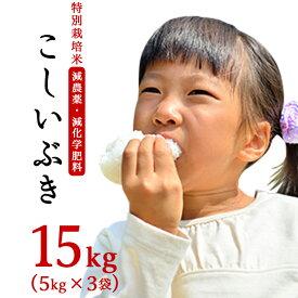 【ふるさと納税】75-K15新潟県長岡産こしいぶき15kg(5kg×3袋)