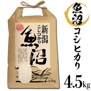 【ふるさと納税】B7-08新潟県魚沼産(長岡川口地域)コシヒカリ4.5kg