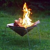 【ふるさと納税】【020P081】[内山産業]キャンプ用品ステンレス焚火台(焚き火台)グリルセット