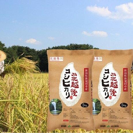 【ふるさと納税】【30年産米!新米!】JA北越後コシヒカリ(特別栽培米)