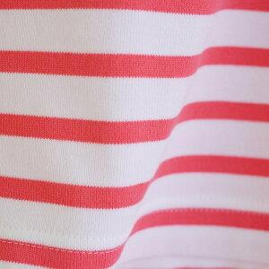【ふるさと納税】雪椿ボーダーシャツ[ふるさと納税限定品/オーガニックコットン100%]