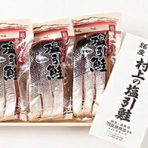 【ふるさと納税】A4021 塩引鮭切り身9切