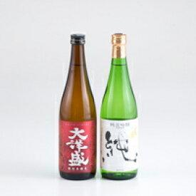 【ふるさと納税】A4054 村上地酒セットA(〆張鶴・大洋盛)