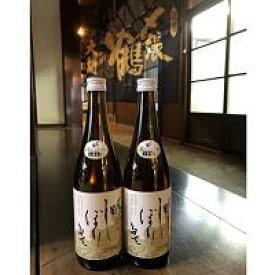 【ふるさと納税】A4089 【12月下旬発送】〆張鶴 しぼりたて生原酒