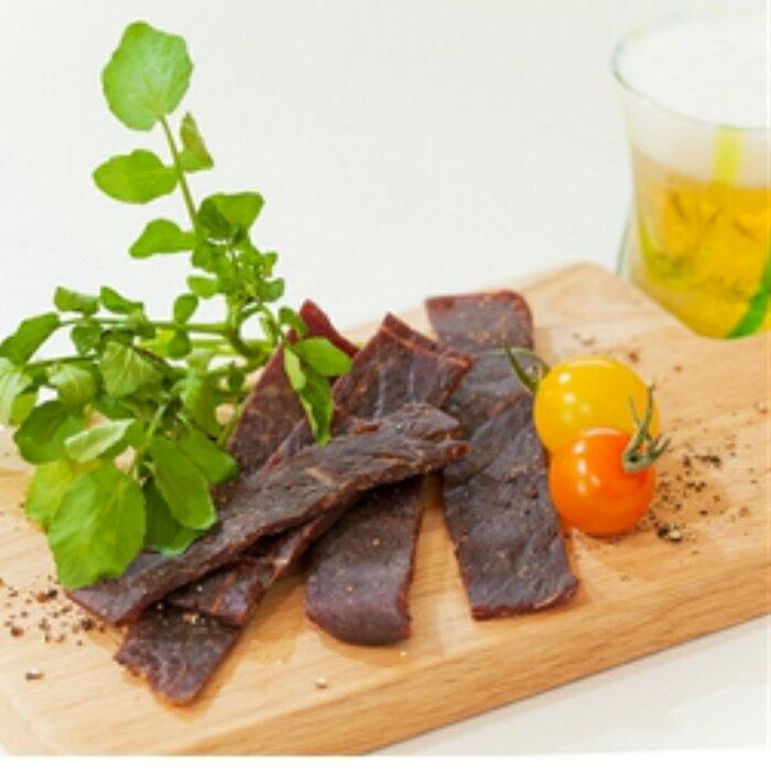 【ふるさと納税】肉の旨みあふれる蒲原牛ビーフジャーキー