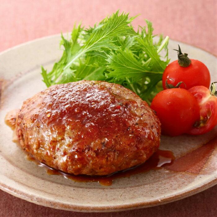 【ふるさと納税】蒲原牛レストランハンバーグセット