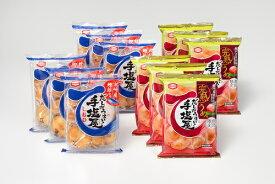 【ふるさと納税】亀田製菓 手塩屋セット(2種類合計12袋)