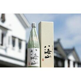 【ふるさと納税】越後の名酒「八海山」純米大吟醸【一升瓶1800ml】