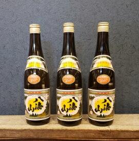 【ふるさと納税】越後の名酒「八海山」 清酒【四合瓶720ml×3本】