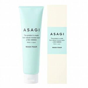 【ふるさと納税】南魚沼の天然超軟水から誕生「ASAGI」<アサギ ウォッシュ フォーム> 洗顔料