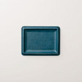 【ふるさと納税】colm レザートレイ Lサイズ ブルー 「立体成型で作った本革製トレイ」【1233015】