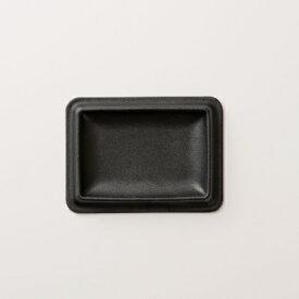 【ふるさと納税】colm レザートレイ Sサイズ ブラック 「立体成型で作った本革製トレイ」【1233171】