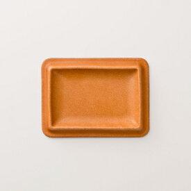 【ふるさと納税】colm レザートレイ Sサイズ キャメル 「立体成型で作った本革製トレイ」【1233192】