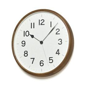 【ふるさと納税】ROOT[電波時計]ブラウン (NY18-06 BW) Lemnos レムノス 時計 【インテリア・民芸品・工芸品・伝統技術】 お届け:※申込状況によりお届け迄1〜2ヶ月程度かかる場合があります。