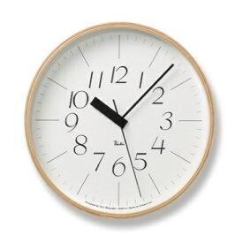 【ふるさと納税】RIKI CLOCK RC[電波時計]/(WR20-01) 細文字タイプ Lemnos レムノス 時計 渡辺力 【インテリア・民芸品・工芸品・伝統技術】 お届け:※申込状況によりお届け迄1〜2ヶ月程度かかる場合があります。