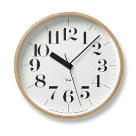 【ふるさと納税】RIKI CLOCK RC[電波時計]/(WR20-02) 太文字タイプ Lemnos レムノス 時計 渡辺力 【インテリア・民芸品・工芸品・伝統技術】 お届け:※申込状況によりお届け迄1〜2ヶ月程度かかる場合があります。