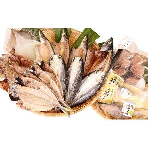 【ふるさと納税】氷見 堀与 地魚一夜干6種と汐ぶりとぶり味噌漬セット 【アジ・魚貝類・干物・鯖・サバ】