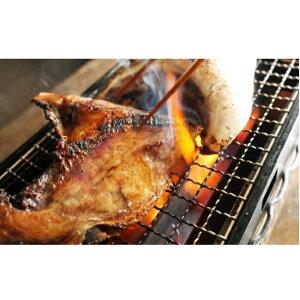 【ふるさと納税】特大とろ肉付き ぶりかま一夜干し 5個 【魚介類・魚貝類・加工食品】