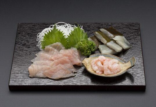 """【ふるさと納税】富山の食文化""""昆布〆のセット"""" 【魚貝・加工品】"""