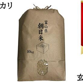 【ふるさと納税】数量限定!あさひのコシヒカリ玄米10kg 【お米・コシヒカリ・玄米】 お届け:2019年9月下旬〜