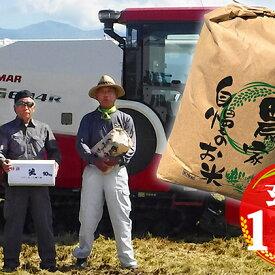 【ふるさと納税】富山県朝日町産くぼたのコシヒカリ玄米10kg 【お米・コシヒカリ・玄米】