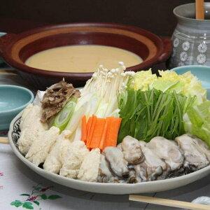 【ふるさと納税】能登牡蠣白味噌鍋セット約3〜4人前(能登牡蠣500g) /カキ 冷蔵配送 ※11月から順次発送
