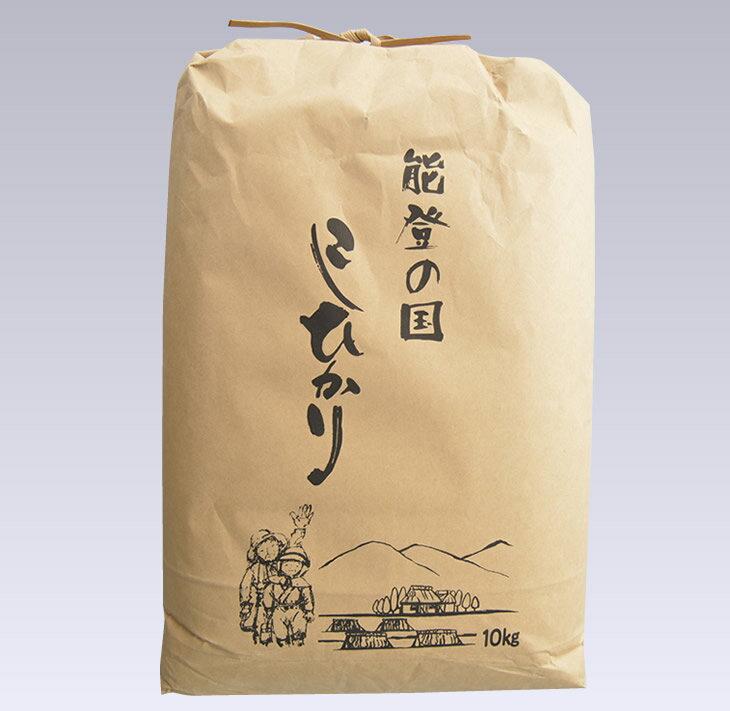 【ふるさと納税】石川県七尾産コシヒカリ(10kg)※10月より順次発送(10月以降は21日以内に発送)
