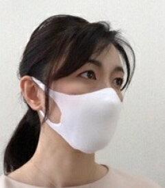 【ふるさと納税】018005. 3Dニットマスク(マスクインナー付き)
