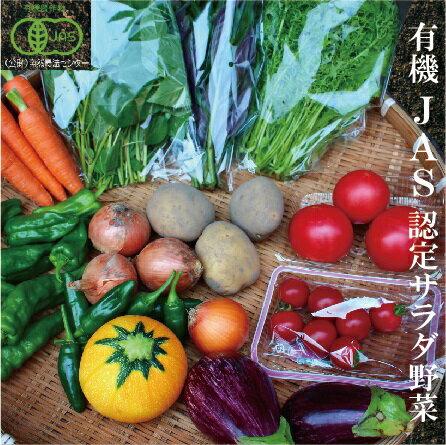 【ふるさと納税】010001. 季節の有機野菜詰合せ
