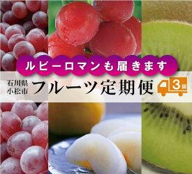 【ふるさと納税】050031. フルーツ定期便 全3回