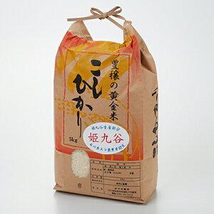 【ふるさと納税】石川県産コシヒカリ(姫九谷) 5kg 【お米・精米・こしひかり】