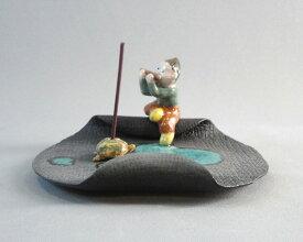 【ふるさと納税】No.047 童子のお香立て / お香立て 手作り 陶器 石川県