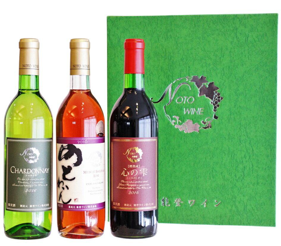 【ふるさと納税】能登ワイン3本セット