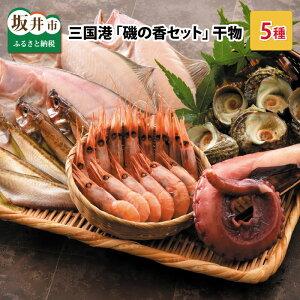 【ふるさと納税】早崎 商店 「磯の香セット」 干物5種入り 三国港