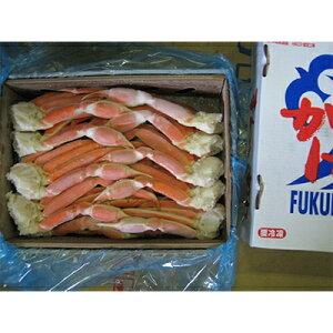 【ふるさと納税】【JF福井漁連ブランド】 冷凍ボイルずわいがに 5kg/L【1007767】