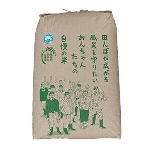 【ふるさと納税】令和2年産 松原おんちゃん米コシヒカリ 特別栽培米玄米30kg【1102240】