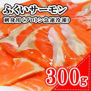 【ふるさと納税】ふくいサーモン(トラウトサーモン)刺身用(プロトン急速冷凍) 【魚貝類・鮭・サーモン】