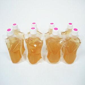 【ふるさと納税】飲む梅ゼリー 甘めタイプを8個 【果汁飲料・ジュース・お菓子・ゼリー・ジュレ】