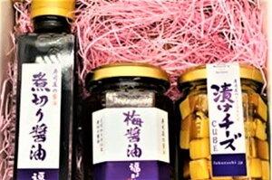 【ふるさと納税】醤油しょう油醤油だれ煮切り醤油寿司寿司職人梅チーズ3種セット送料無料