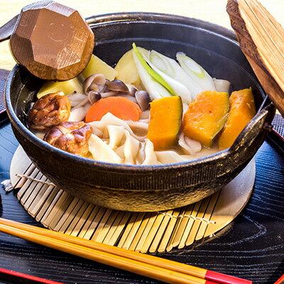 【ふるさと納税】富士五湖セット(うどん×6食、ほうとう×4食)