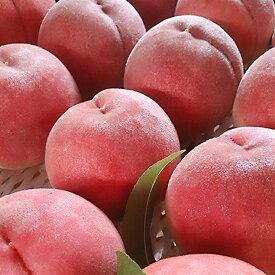 【ふるさと納税】日本一の桃の産地 山梨より直送!「完熟特選もも約2kg」