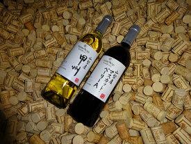 【ふるさと納税】山梨産甲州とマスカットベーリーA赤白2本セット【 ワイン 山梨県 山梨市 】
